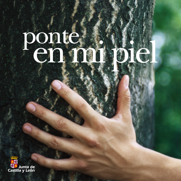 """Junta de Castilla y León, Consejería de Medio Ambiente. Campaña """"Ponte en mi piel"""""""