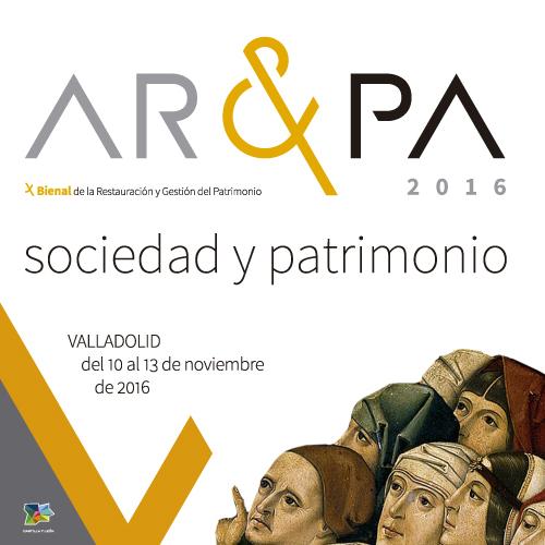 AR&PA 2016: Bienal de la restauración y gestión del patrimonio.